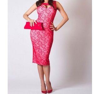 Tatyana Megan Dress in Lace